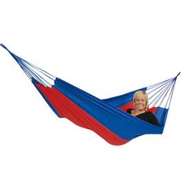 Hamaca Amazonas Silk Traveller azul/roja